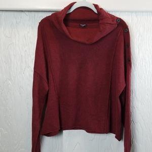 Splendid burgandy sweater